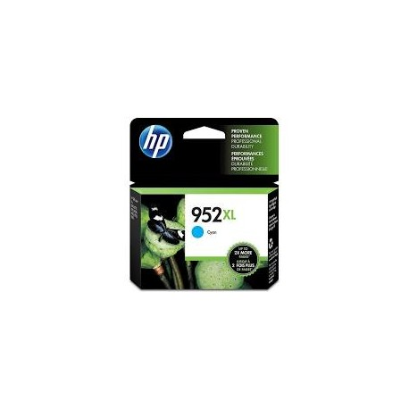 HP 952XL Cyan High Yield Original Ink Cartridge (L0S61AN)