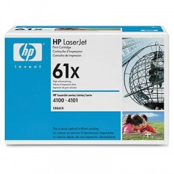 HP 61X C8061X High Yield Black Original Toner Cartridge