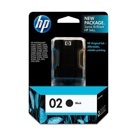 HP 02 Black