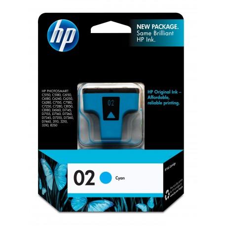 HP 02 Cyan