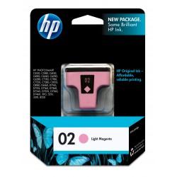HP 02 Light Magenta Original Ink Cartridge (C8775WN)