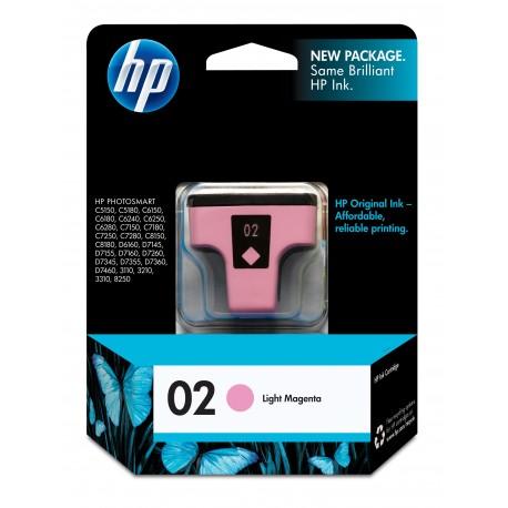 HP 02 Light Magenta