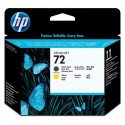 HP 72 Black/Yellow Original Ink Cartridge (C9384A)