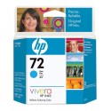 HP 72 Cyan Original Ink Cartridge (C9398A)