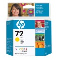 HP 72 Yellow Original Ink Cartridge (C9400A)