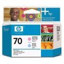 HP 70 Light Magenta/Light Cyan Printhead (C9405A)