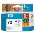 HP 70 Photo Black/Light Grey Printhead (C9407A)