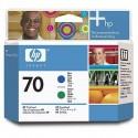 HP 70 Blue/Green Printhead (C9408A)
