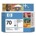HP 70 Gloss Enhancer/Grey Printhead (C9410A)