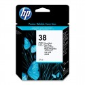 HP 38 Photo Black Original Ink Cartridge (C9413A)