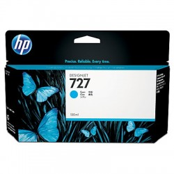 HP 727 Cyan Original Ink Cartridge (B3P19A)