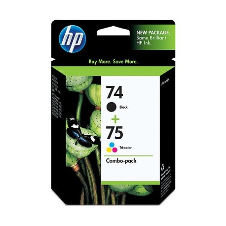 HP 74 75 Combo-pack