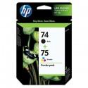 HP 74/75 Black Combo-Pack Original Ink Cartridge (CC659FN)