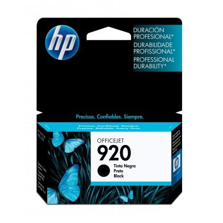 HP 920 Black Original Ink Cartridge (CD971AN)