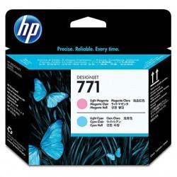 HP 771 Light Magenta Light Cyan Designjet Printhead
