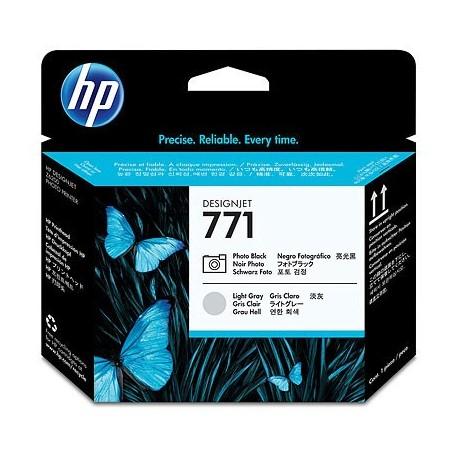 HP 771 Photo Black Light Gray Designjet Printhead