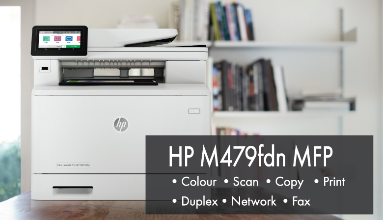 HP M479 LaserJet Pro MFP W1A79A and Toner Delivered in Canada